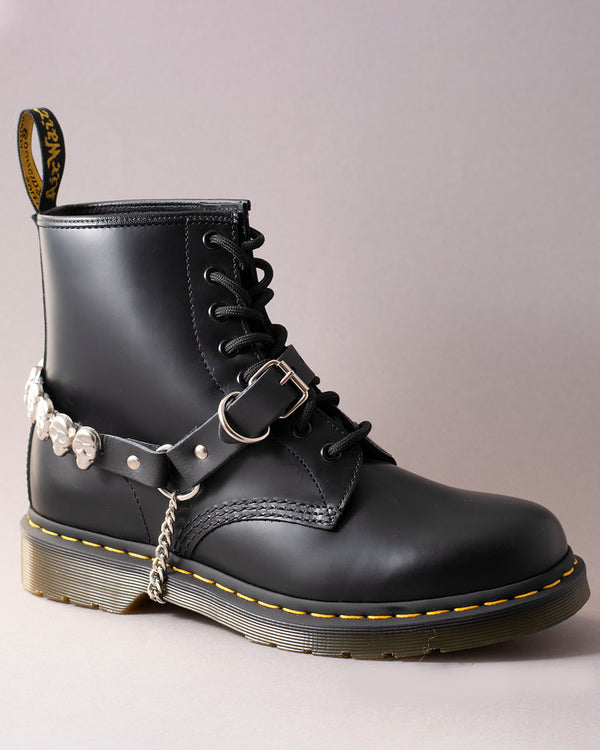 Tiger of London Skull Stud Leather Bootstraps - Pick Up - Dusseldorf