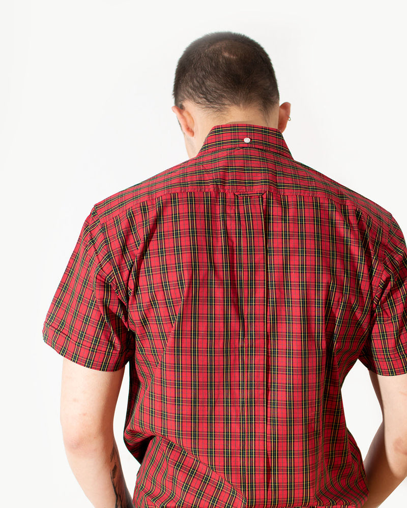 Relco RELCO LONDON, Vintage Shirt, Classic Red, Tartan Print - Pick Up - Dusseldorf