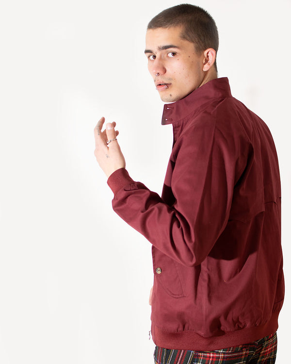 HOXTON HOXTON, HARRINGTON, MAROON - Pick Up - Dusseldorf