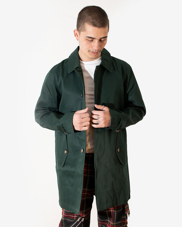 HOXTON HOXTON, MAC COAT, GREEN - Pick Up - Dusseldorf