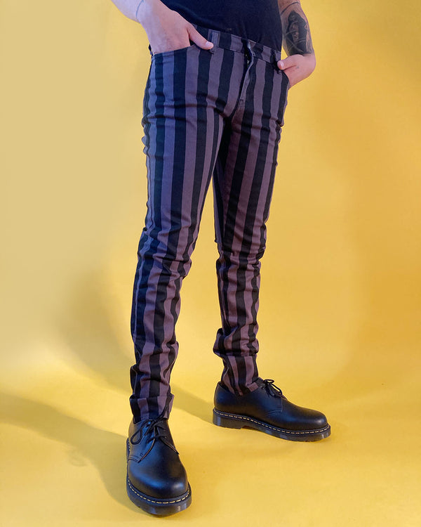RUN & FLY Run & Fly, Wide Stripe Skinny, Black/Grey UNISEX - Pick Up - Dusseldorf