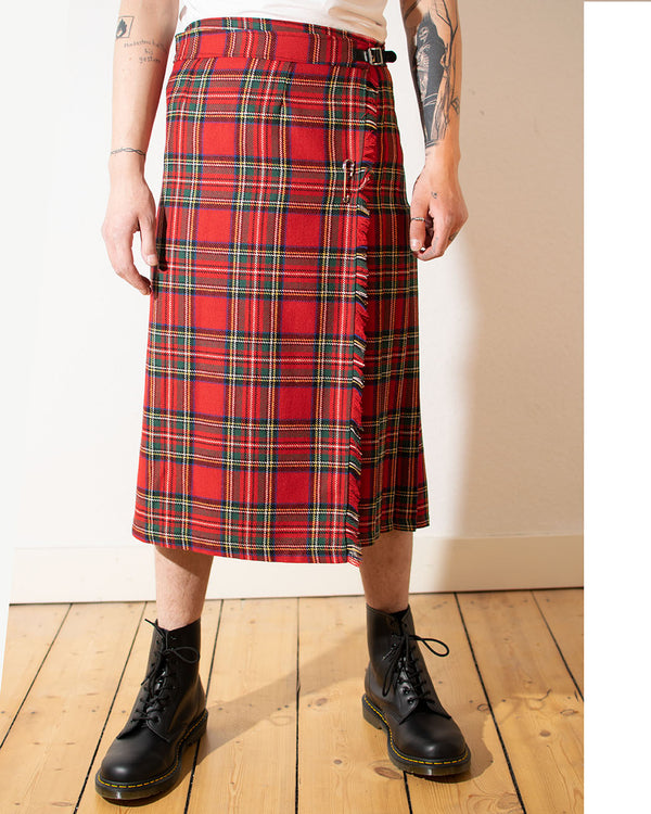 Tiger of London Tiger of London, Tartan Mens Long Kilt, Red - Pick Up - Dusseldorf