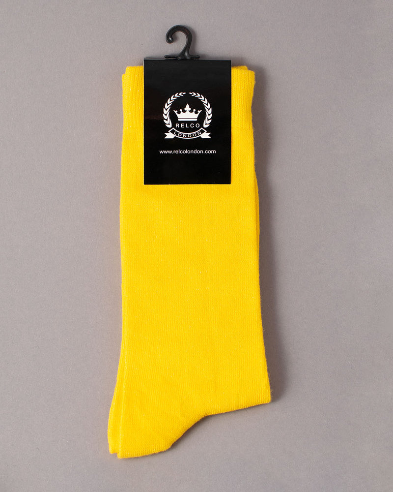 Relco RELCO LONDON, Socks, Yellow - Pick Up - Dusseldorf