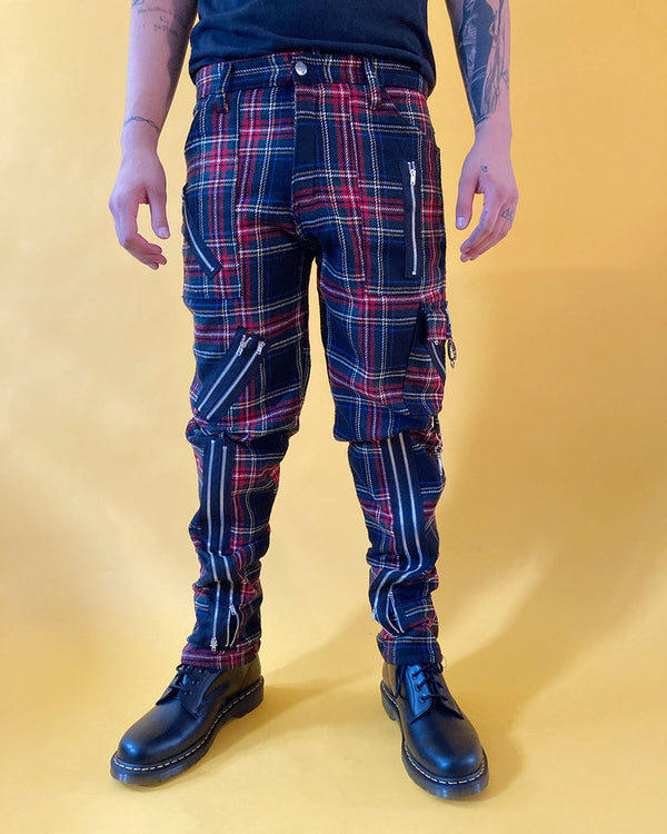 Tiger of London Tiger of London, Zip Bondage Tartan Pants, Multi - Pick Up - Dusseldorf