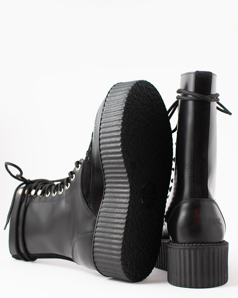 BBC BBC, 20062, Creeper boot, black/polido suede UMD - Pick Up - Dusseldorf