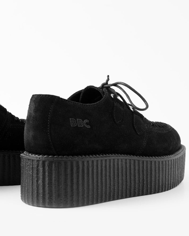 BBC BBC, Creeper, UMD double Sole, Black Suede - Pick Up - Dusseldorf