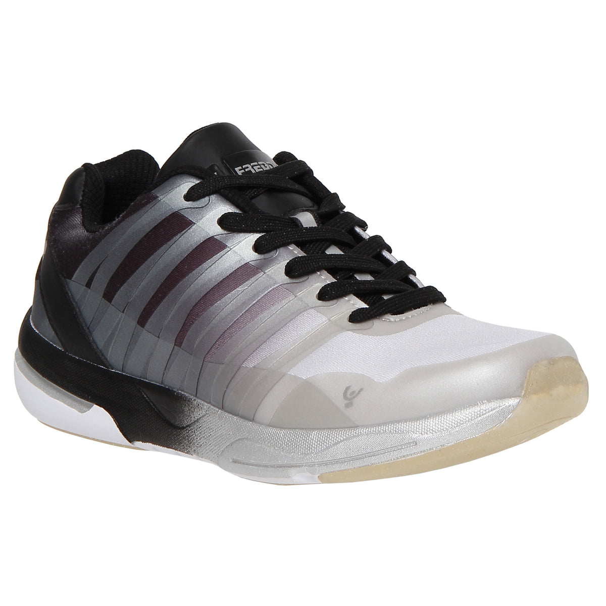 SILVER BLACK FADE FITNESS SHOE