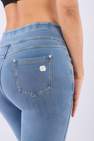 N.O.W JEGGING 5 POCKET LIGHT DENIM