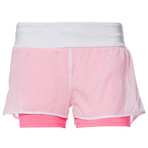 FREDDY SHORTS WHITE/NEON PINK