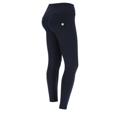 ANKLE LEG NAVY HIGH WAIST SELF TONE ZIP