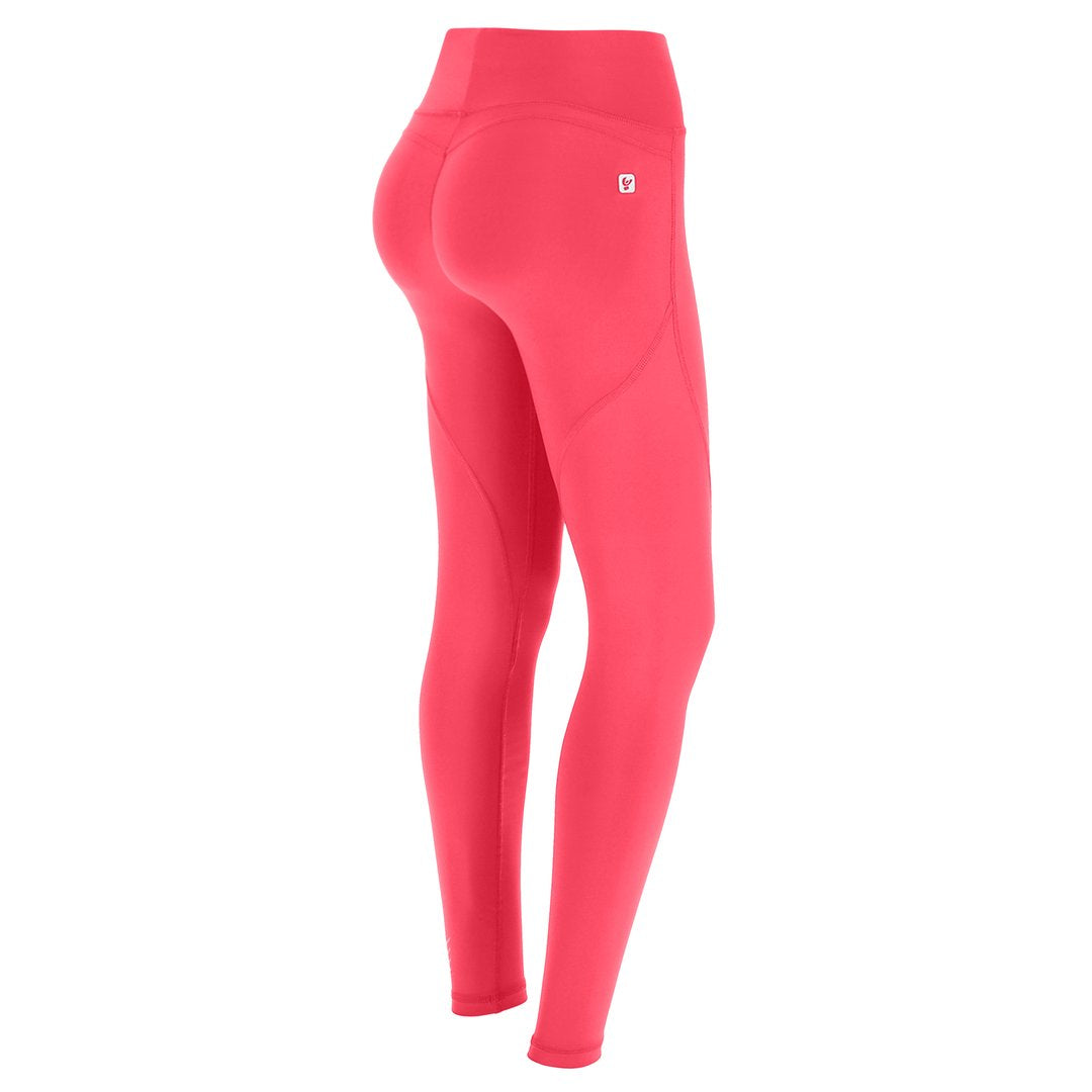 HIGH WAIST CORAL SPORT SHAPING EFFECT LEGGINGS