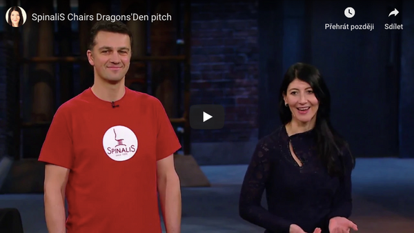 dragons den chairs Video of Spinalis at the dragons den - Spinalis Chair Canada