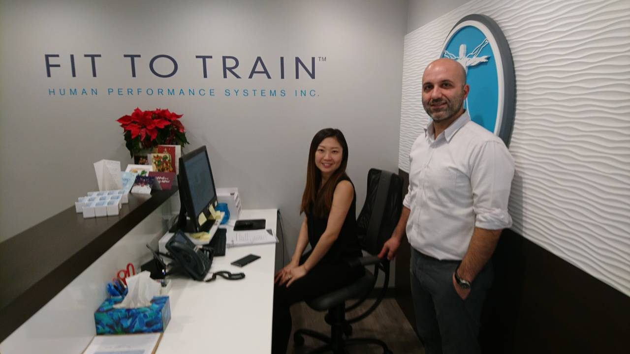 Osteopath's opinion Fit to Train - Spinalis Chair Canada