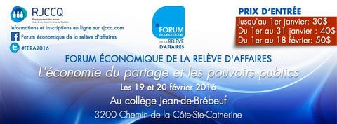 Café Liégeois & Economic Youth Forum (RJCCQ)