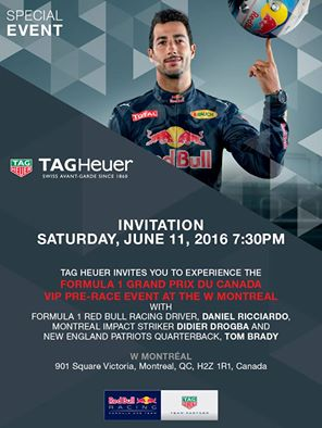 Special event Formula One Grand Prix Montreal