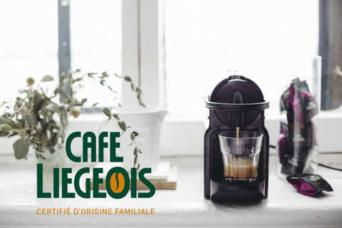 Café Liégeois and Nespresso machine