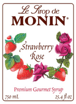 MONIN - Strawberry Rose