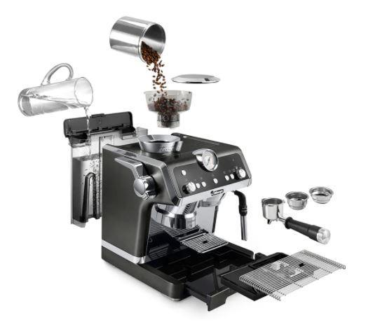 DeLonghi - La Specialista Espresso Machine CHROME