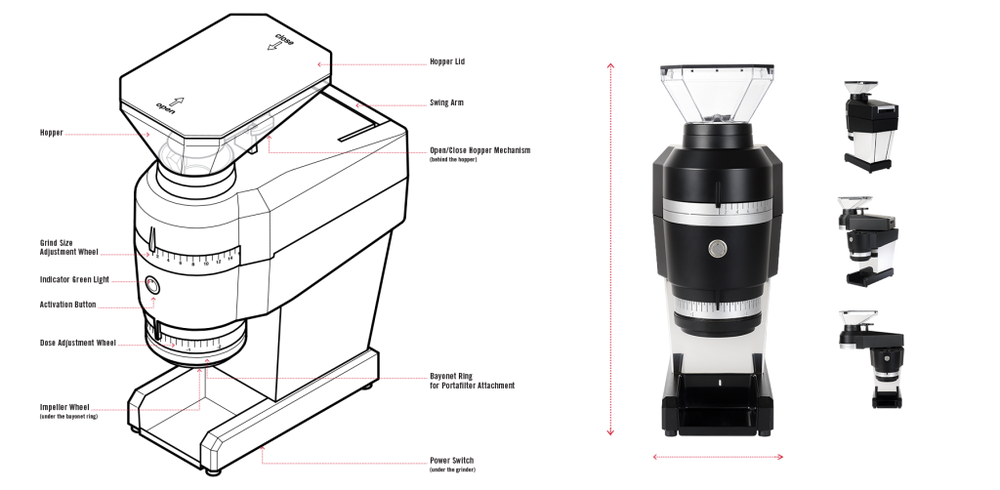 LA MARZOCCO - Swift MINI Grinder