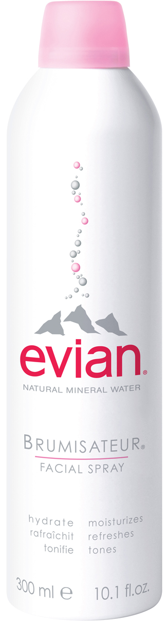 Evian Spray Water 10 oz is sold in the USA by Le French Skin Care