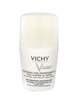 Vichy 48H SENSITIVE SKIN Anti-perspirant Deodorant  is sold in the USA by Le French Skin Care