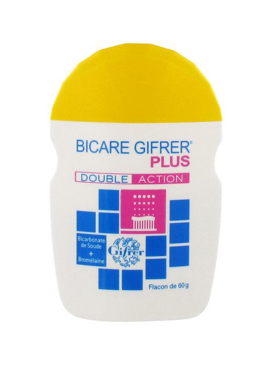 Gifrer Bicare Plus Baking Soda + Bromelain is sold in the USA by Le French Skin Care