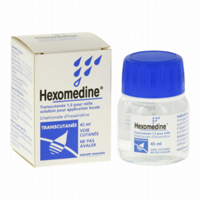 Hexomedine Transcutanee is sold in the USA by Lefrenchskincare.com