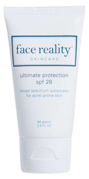 Face Reality Mineral SPF 28 sunscreen