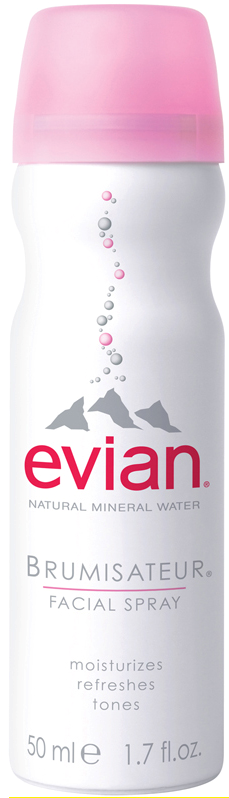 Evian Spray Water 1.7 oz is sold in the USA by Le French Skin Care