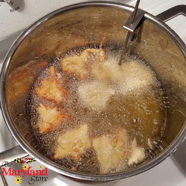 Crab Critter Fritters Recipe | The Maryland Store