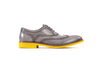 2017 Grey & Yellow Brogue Wingtip