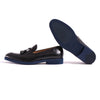 2017 Men's Black & Deep Blue Sole Loafer