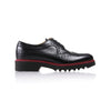 2017 Women's Black & Oxblood Brogue Wingtip