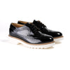 2017 Women's Black Patent Brogue Wingtip