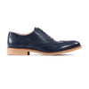 Dark Blue & Beige Brogue Wingtip