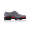 2017 Women's Grey & Red Brogue Wingtip