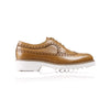 2017 Women's Tan Brogue Wingtip