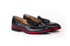 2017 Men's Black & Red Tassel Loafer