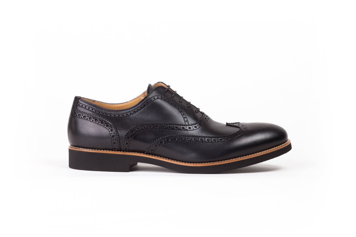 2017 Men's Wingtip Black