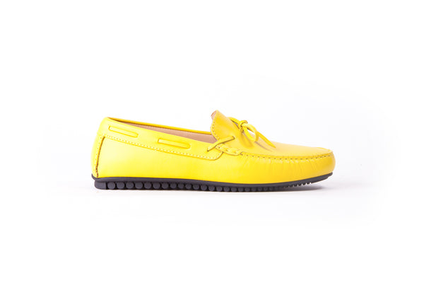 Men's Yellow Driver Mocassin (EX-210)