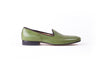 Men's Green Slip-On with Leather Sole (EX-133)