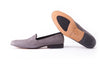 Men's Grey Velvet Slip-On with Leather Sole -(EX-135)