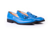 Men's Navy Blue Tassel Loafer with Black Sole ( EX-176)