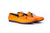 Men's Orange Driver Mocassin (EX-177)