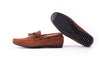 Men's Brown Suede Driver Mocassin (EX-192)