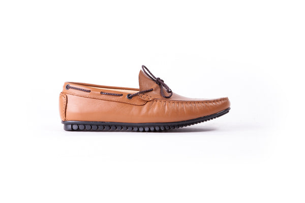 Men's Tan Driver Mocassin (EX-196)