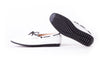Men's White & Black Lace Driver Mocassin (EX-197)