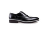 2017 Men's Black & White black sole Brogue Wingtip