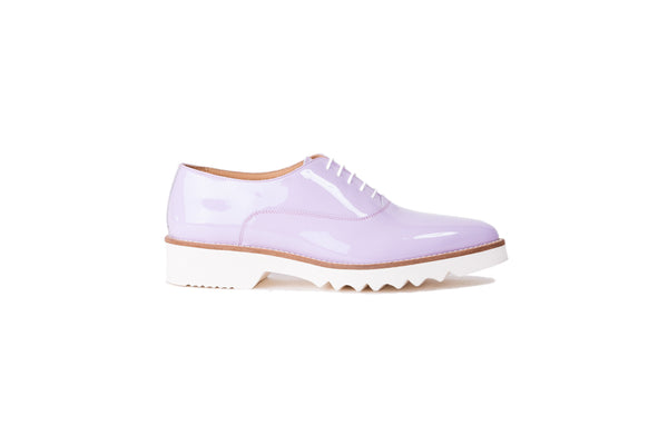 Women's Lavender Patent Lace Up EX-315 (2017)