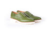 Women's Green Lace Up EX-319